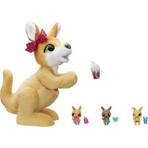 Интерактивная игрушка FurReal Friends Кенгуру Джози и ее малыши Hasbro