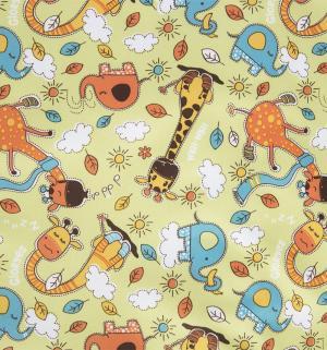 Пеленка впитывающая  Жирафы 80х68 см, 1 шт GlorYes