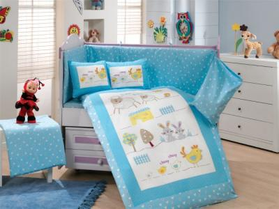 Комплект в кроватку  Zoo 100х150 см (10 предметов) Hobby Home Collection