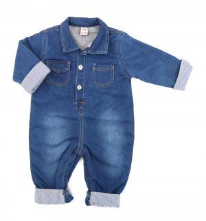 Комбинезон , цвет: синий Baby Pep
