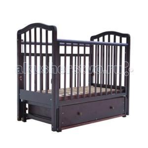 Детская кроватка  1 маятник поперечный Лаура