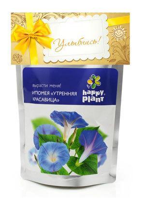 Набор для выращивания Ипомея пурпурная Happy Plant