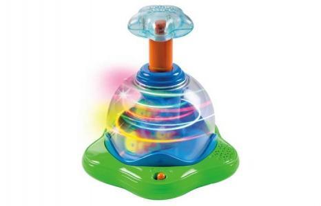 Развивающая игрушка  Волшебная вертушка со светом Bright Starts
