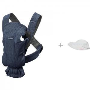 Рюкзак-кенгуру  Mini Mesh и Нагрудник для рюкзака-переноски 2 шт. BabyBjorn