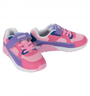 Кроссовки  Maxim, цвет: розовый Ascot