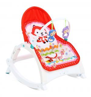 Шезлонг  R1 fox, цвет: красный Corol