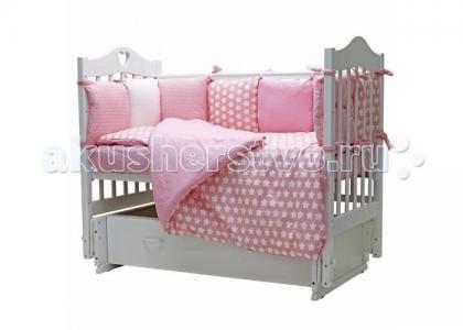 Комплект в кроватку  12 месяцев (6 предметов) Топотушки