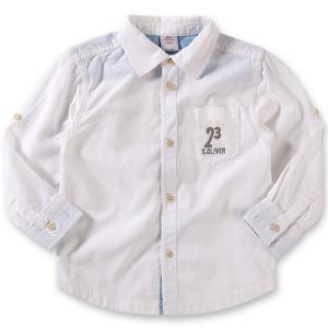 Рубашка для мальчика s.Oliver. Цвет: белый