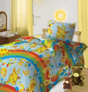 Комплект постельного белья  Веселый счет, цвет: мультиколор Кошки-Мышки
