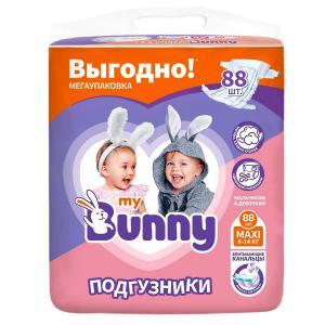 Подгузники  Maxi (8-14 кг) шт. My Bunny