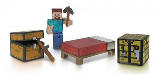 Набор фигурок Survival pack 8 см Minecraft