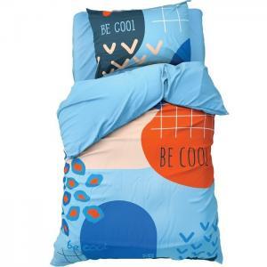 Постельное белье  1.5 спальное Be cool (3 предмета) Этель