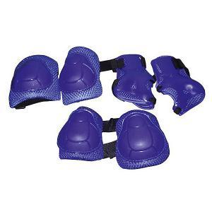 Защита локтя, запястья, колена р.S, Z-Sports. Цвет: синий