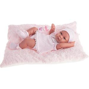 Кукла-младенец Ника в розовом, 42 см, Munecas Antonio Juan