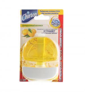 Запасной блок для чистки туалета  Цитрусовый всплеск Chirton