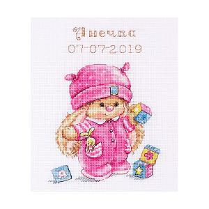 Набор для вышивания  Зайка Ми Малышка 13х17 см Алиса