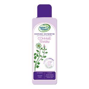 Экстракт Сонные травы с маслом лаванды , 250 мл Страна Здравландия