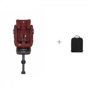 Автокресло  Stages Isofix и защитный коврик на спинку переднего сиденья Brica Munchkin Joie