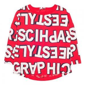 Джемпер  Графичные буквы Crockid