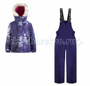Комплект для девочки (куртка, полукомбинезон) GWG 6884 Gusti