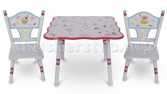 Комплект из стола и двух стульев Париж Major-Kids