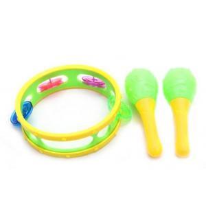 Набор музыкальных инструментов  (3 предмета) Наша Игрушка