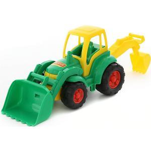 Трактор с лопатой и ковшом Чемпион, Полесье Polesie