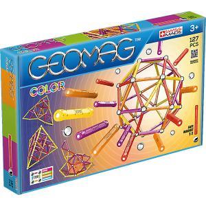 Магнитный конструктор  Color, 127 деталей Geomag. Цвет: синий