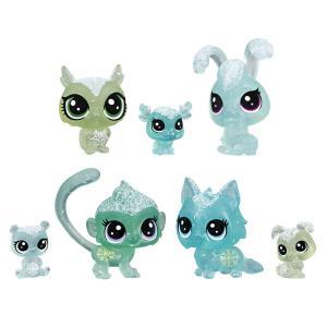 Игровой набор  Холодное царство 7 петов зеленый Littlest Pet Shop