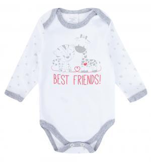 Боди  Best Friends, цвет: молочный Newborn