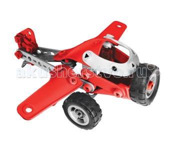 Конструктор  Легкомоторный самолёт 4 модели (95 деталей) Meccano