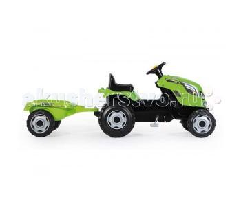 Трактор педальный XL с прицепом Smoby
