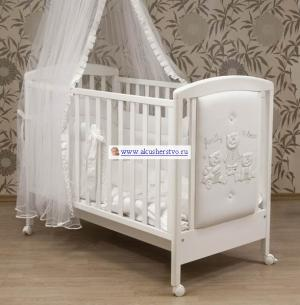 Детская кроватка  Family 125х65 Bambolina