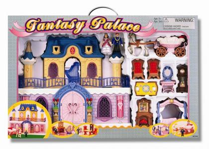 Fantasy Palace Дворец с каретой и предметами Keenway