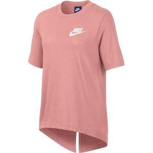 Футболка Nike. Цвет: розовый