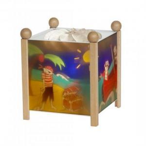Светильник-ночник в форме куба Пираты Trousselier