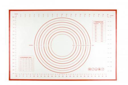 Силиконовый коврик с разметкой 60х40 см Bradex