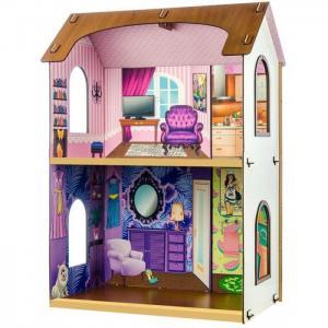 Кукольный домик Жаклин конструктор Теремок