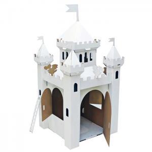 Игровой домик из картона Сказочный замок Картонный папа