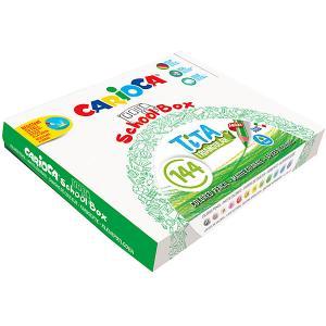 Набор цветных карандашей  Tita 144 шт., 12 цветов Carioca. Цвет: белый