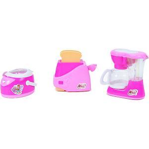 Игровой набор  Бытовая техника Кофеварка, тостер и мультиварка Winx Club. Цвет: разноцветный