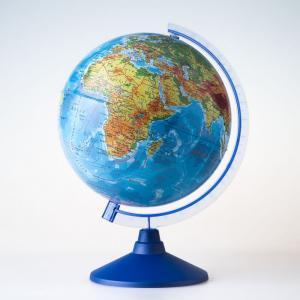 Глобус Земли физический Евро 25 см Globen