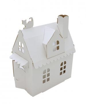 Кукольный дом Алисы Картонный папа