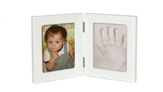 Рамочка Принт двойная маленькая 25х15 Ручки&Ножки