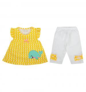 Комплект туника/лосины , цвет: желтый Bony Kids