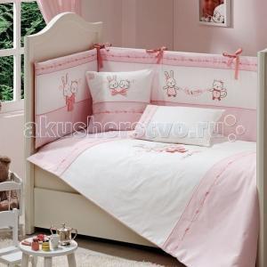 Комплект в кроватку  Lily Milly (5 предметов) Funnababy