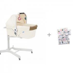 Колыбель  стульчик 3000 Elite 5 в 1 с комплектом Daisy Лошадки Simplicity