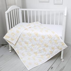 Одеяло  стеганое Облака 105 х 140 300 гр. Baby Nice (ОТК)