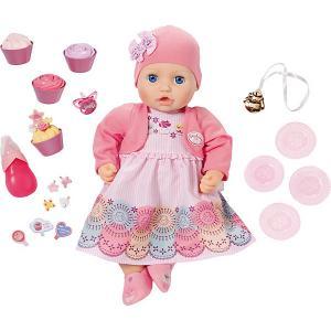 Кукла  Baby Annabell Праздничная Zapf Creation. Цвет: разноцветный
