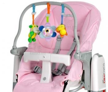 Комплект для стульев  Tatamia и Prima Pappa Newborn, цвет: розовый Peg-Perego